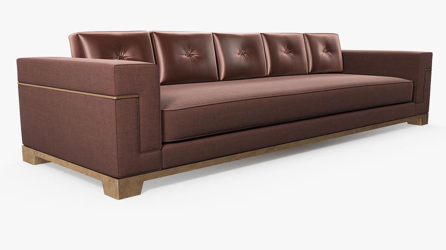 Hudson Möbel - Gitanes Sofa royalty-free 3d model - Preview no. 4