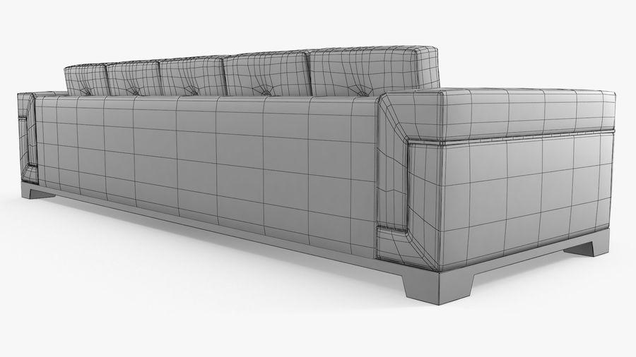Hudson Möbel - Gitanes Sofa royalty-free 3d model - Preview no. 10