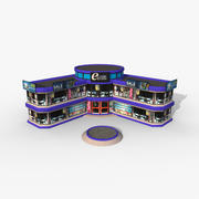 Cartoony Electronic Store 3d model