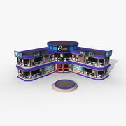 Elektronik Mağazası 3d model