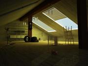 荒芜的空间 3d model