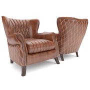 Armchair Vintage Country 3d model