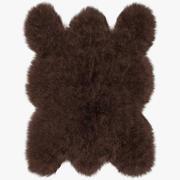 大棕熊地毯 3d model