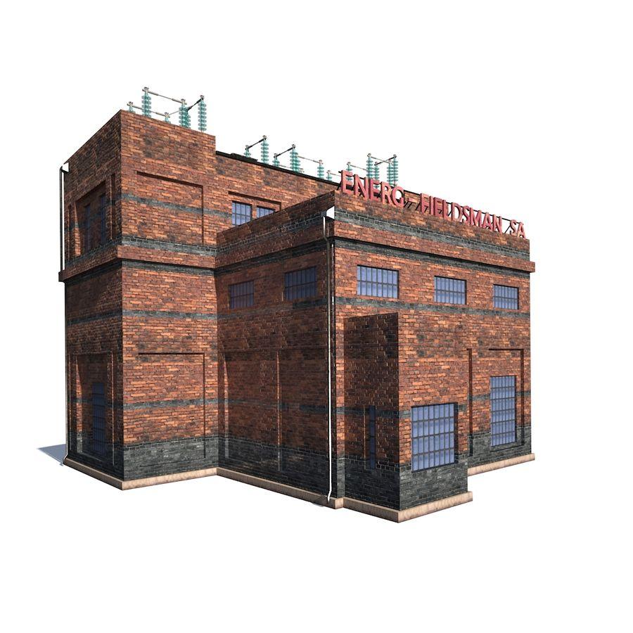 工場電気 royalty-free 3d model - Preview no. 2