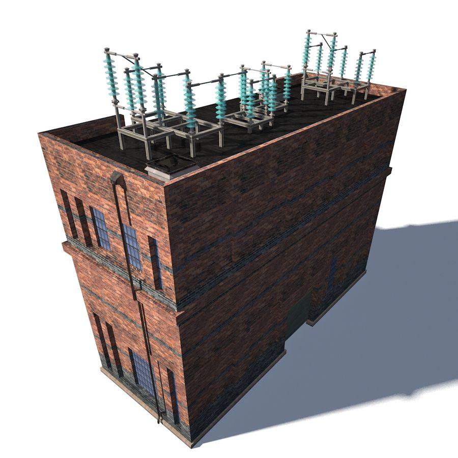 工場電気 royalty-free 3d model - Preview no. 4
