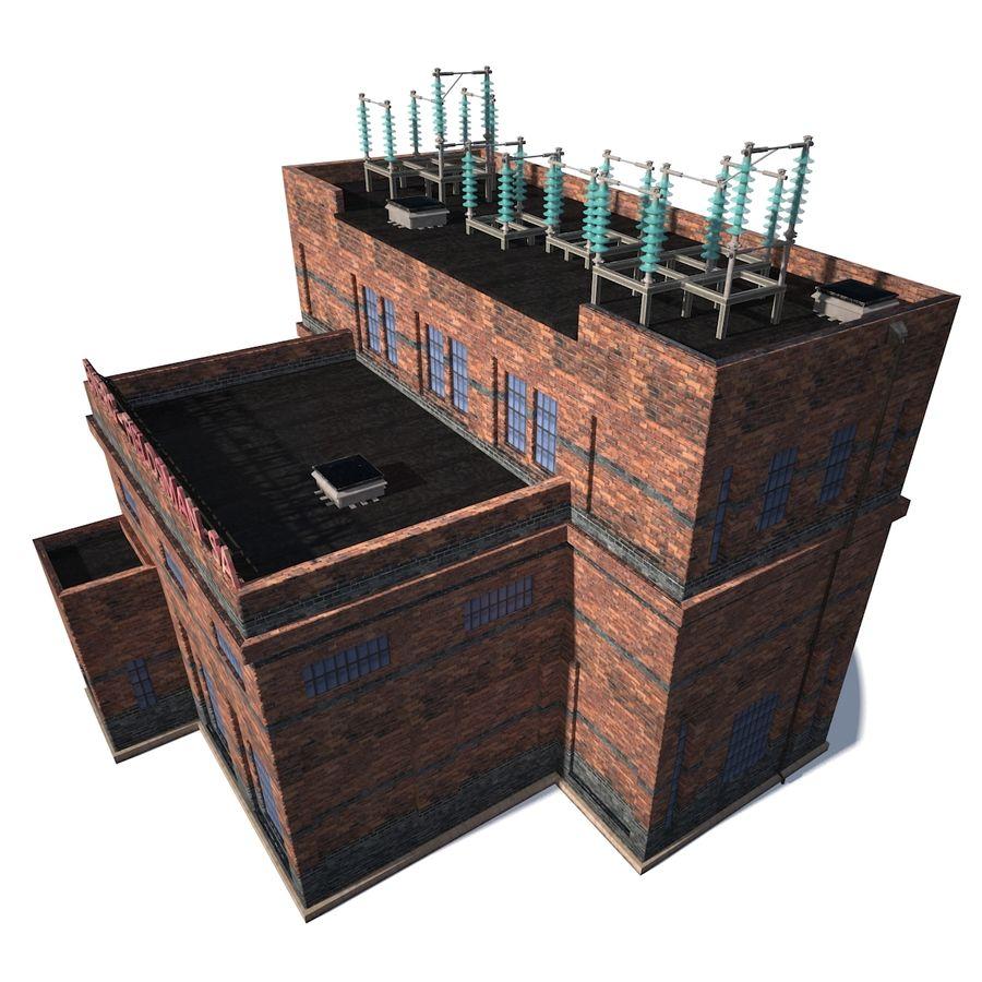 工場電気 royalty-free 3d model - Preview no. 3