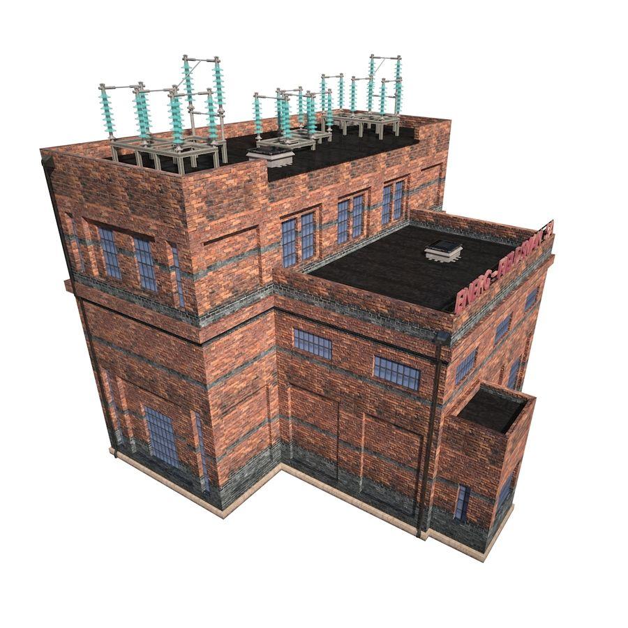 工場電気 royalty-free 3d model - Preview no. 6