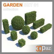 Garden Set 01 3d model