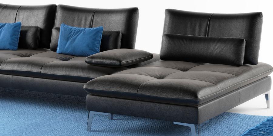 Sofa Scenario Set Roche Bobois 3d Model, Roche Bobois Furniture Reviews