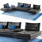 Scenario divano set Roche Bobois 3d model