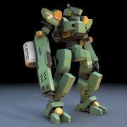 Sentinel Robot Mech fbx fornat 3d model