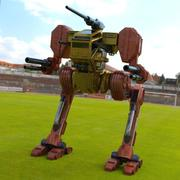 Hawksclaw Robot Makine fbx biçimi 3d model
