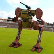 Hawksclaw Robot Mech fbx format 3d model