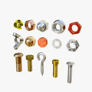 Industrial Screws 3d model