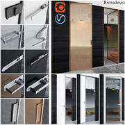 Rimadesio-Türen - Türen für Büro- und Heim-3D-Modelle 3d model