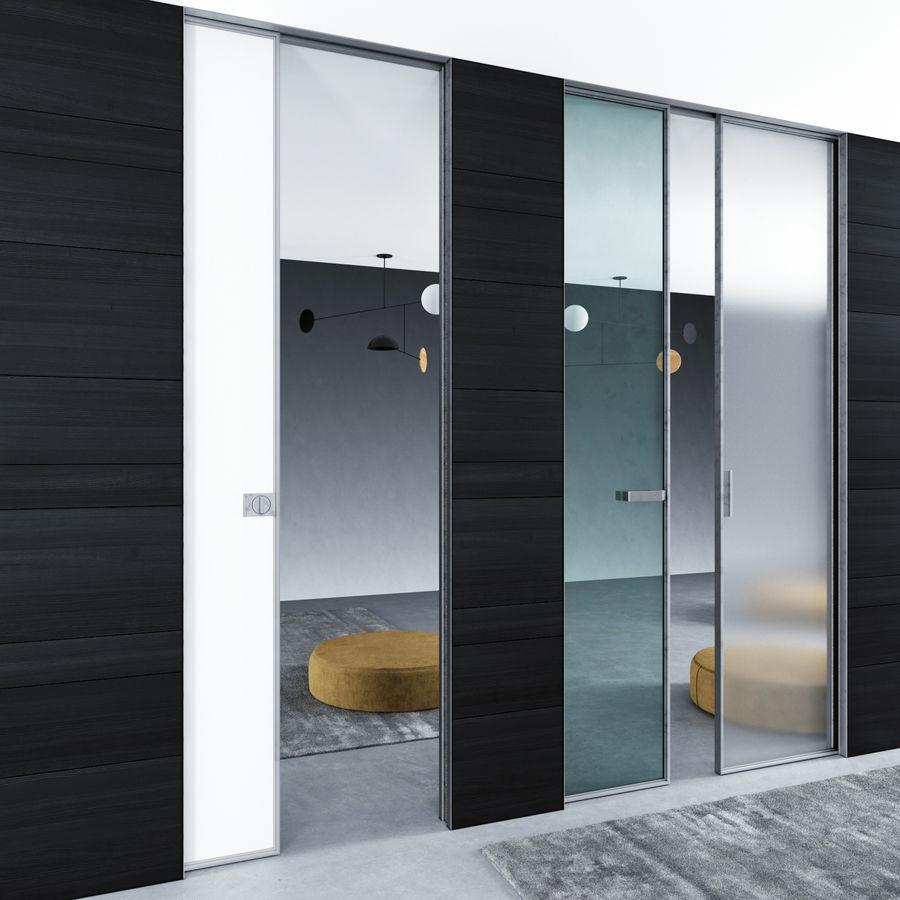 Türen für Büro und Zuhause - Rimadesio royalty-free 3d model - Preview no. 7