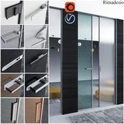 Türen für Büro und Zuhause - Rimadesio 3d model