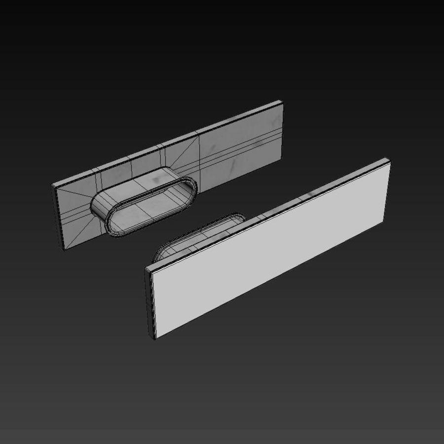 Türen für Büro und Zuhause - Rimadesio royalty-free 3d model - Preview no. 23