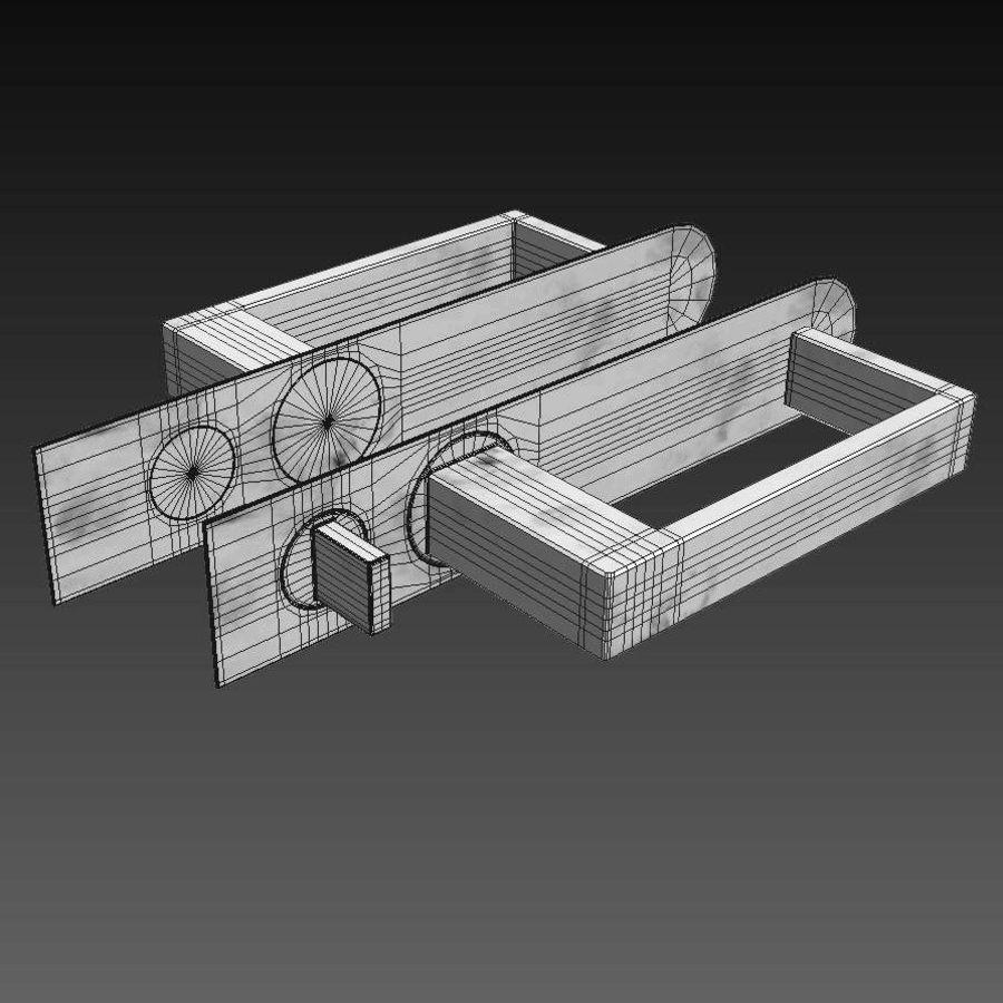 Türen für Büro und Zuhause - Rimadesio royalty-free 3d model - Preview no. 25