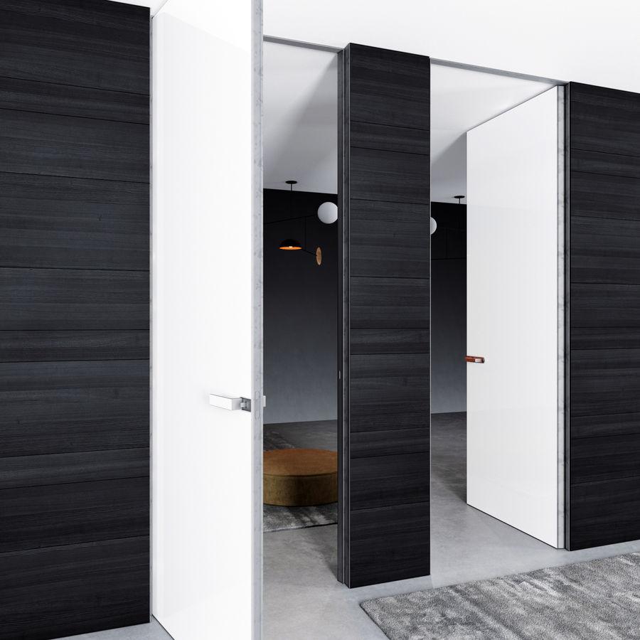 Türen für Büro und Zuhause - Rimadesio royalty-free 3d model - Preview no. 6