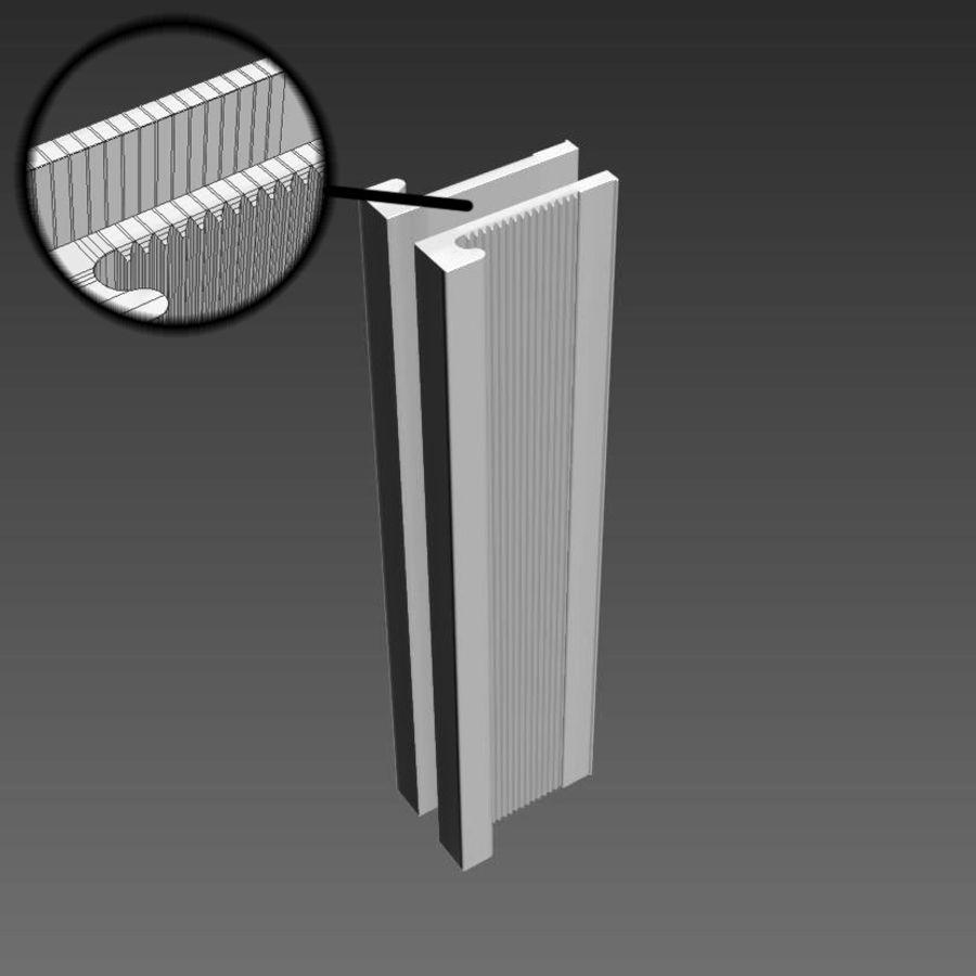 Türen für Büro und Zuhause - Rimadesio royalty-free 3d model - Preview no. 20