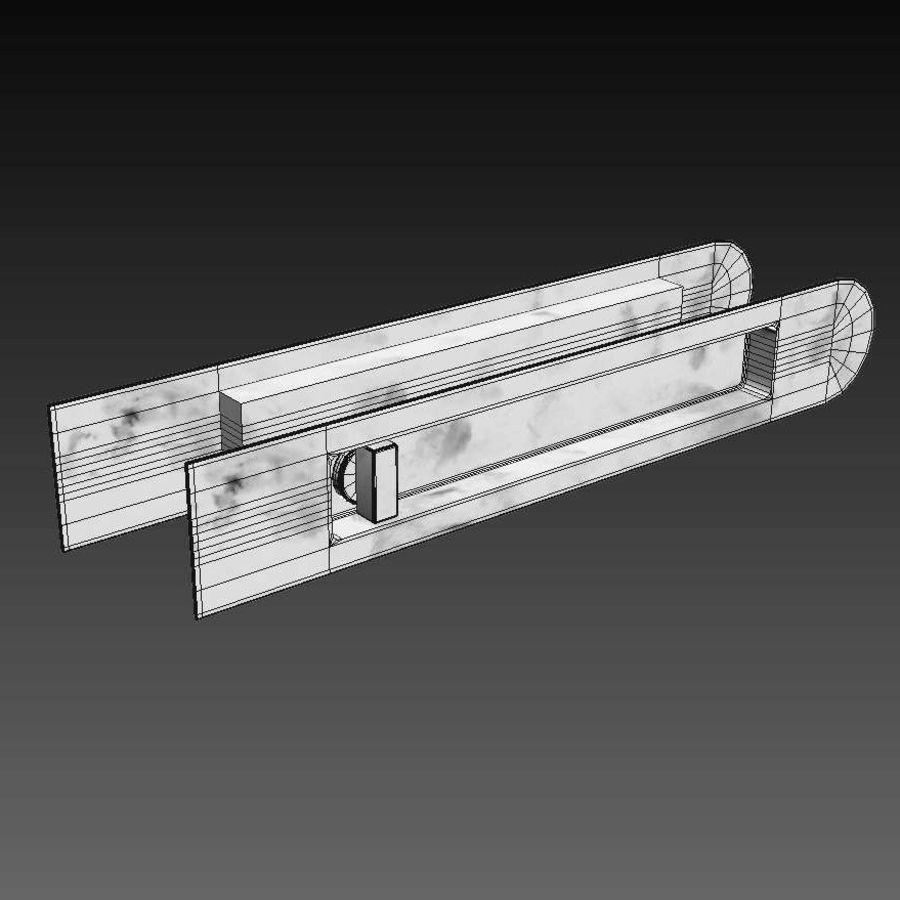 Türen für Büro und Zuhause - Rimadesio royalty-free 3d model - Preview no. 27