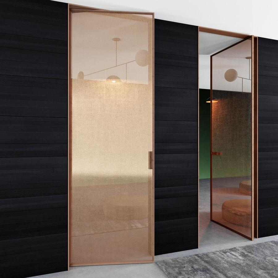 Türen für Büro und Zuhause - Rimadesio royalty-free 3d model - Preview no. 3
