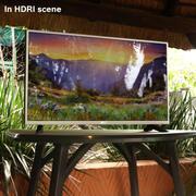 LG 32LH513U LED-tv 3d model