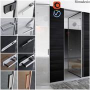 Türen für Zuhause und Büro im Stil des Minimalismus - Rimadesio 3d model