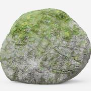 苔藓巨石 3d model