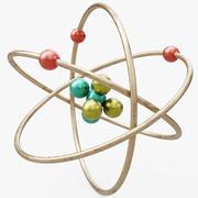 Atom Visualization 3d model