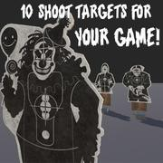 Shoot Targets Pack 3d model