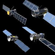 4 satélites MÁS construye tu propio kit de satélite modelo 3d