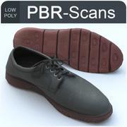 137靴低 3d model