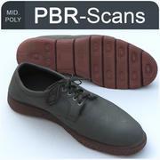 137 shoe mid 3d model