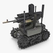 無人戦車 3d model