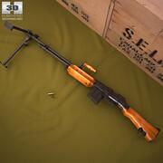 Автоматическая винтовка Browning M1918 3d model