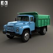 ZIL 130 Muldenkipper 1964 3d model