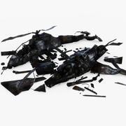 Pacchetto aeromobili schiantati 3d model