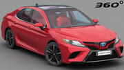 Toyota Camry XSE 2018 (Complete model) 3d model