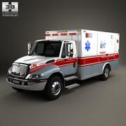 Ambulanza internazionale Durastar 2002 3d model