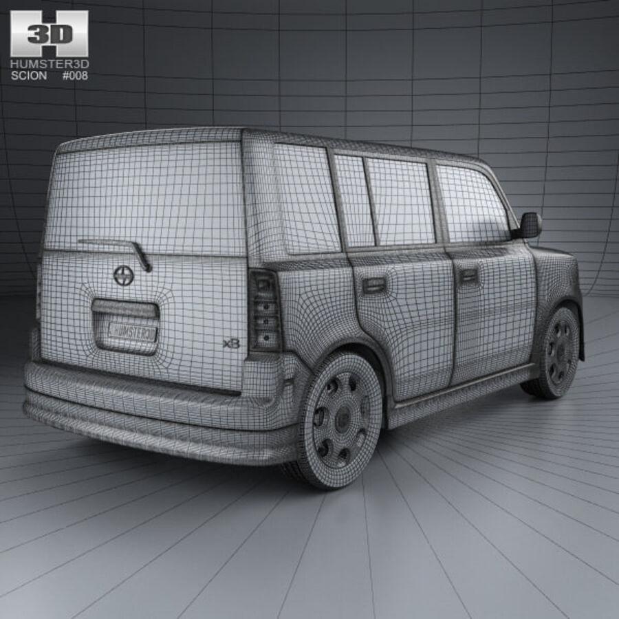 Vástago xB 2003 royalty-free modelo 3d - Preview no. 4