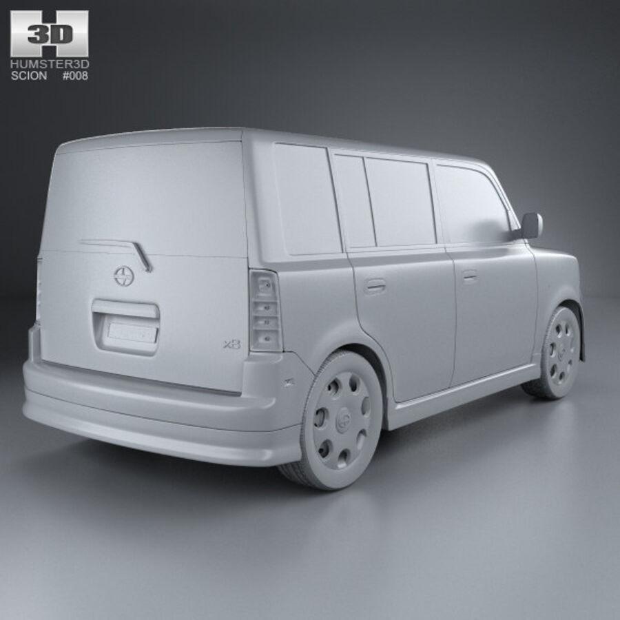 Vástago xB 2003 royalty-free modelo 3d - Preview no. 12
