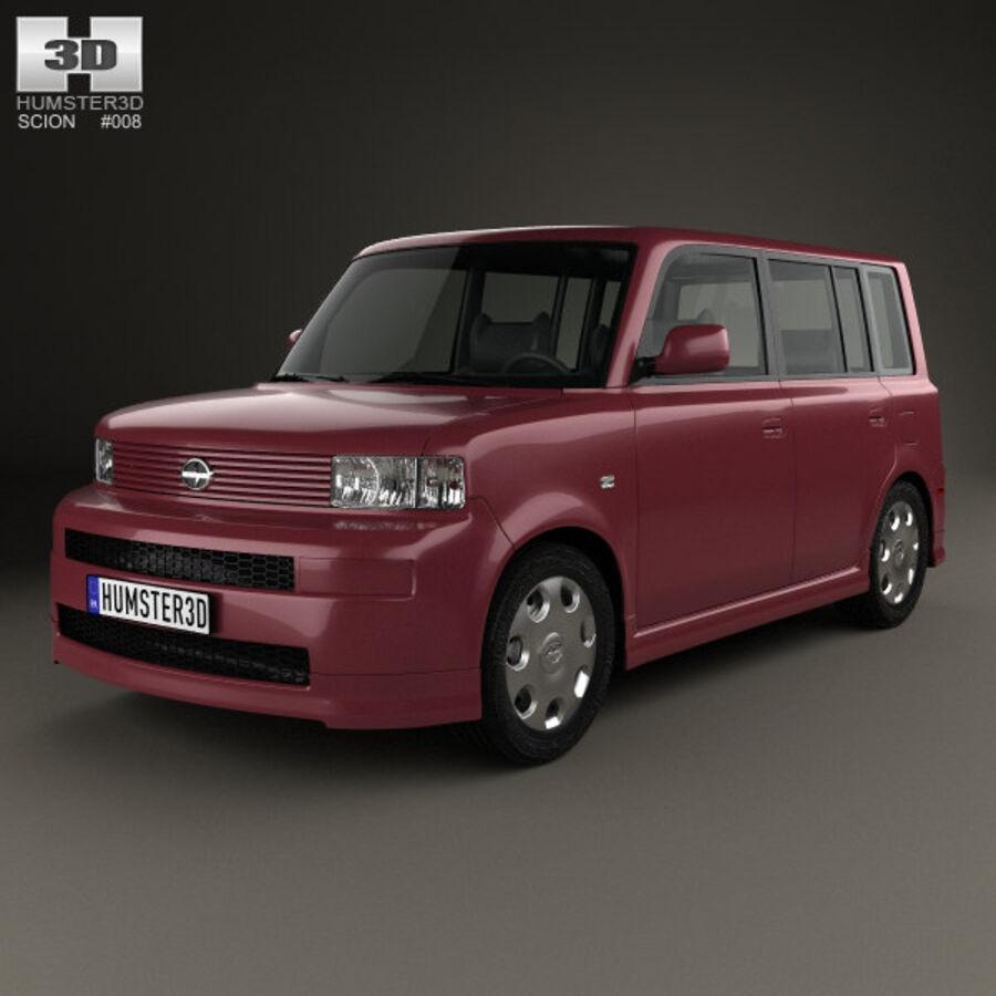 Vástago xB 2003 royalty-free modelo 3d - Preview no. 1