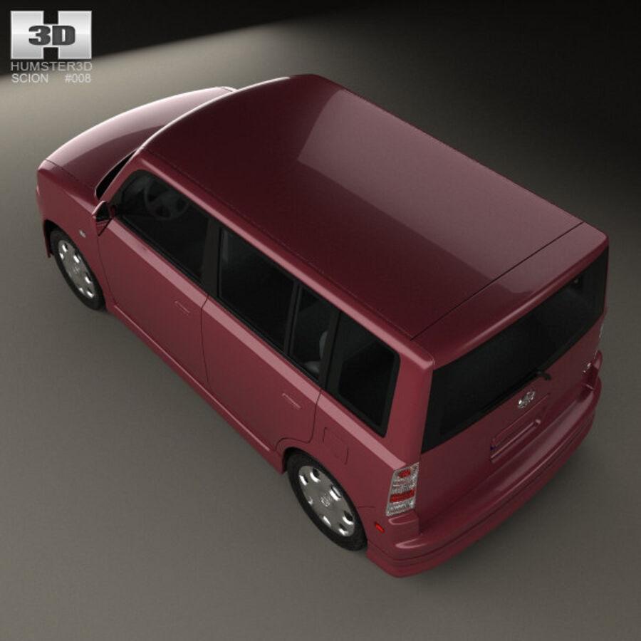 Vástago xB 2003 royalty-free modelo 3d - Preview no. 9