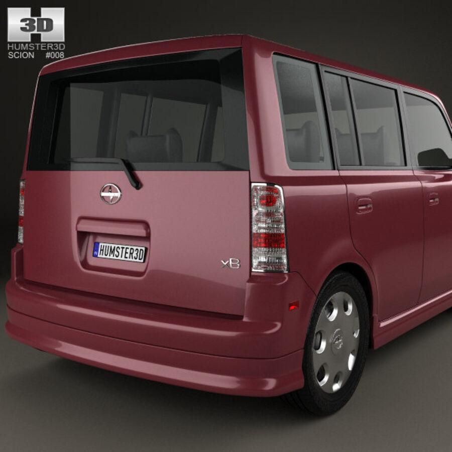 Vástago xB 2003 royalty-free modelo 3d - Preview no. 7