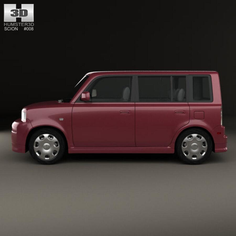 Vástago xB 2003 royalty-free modelo 3d - Preview no. 5