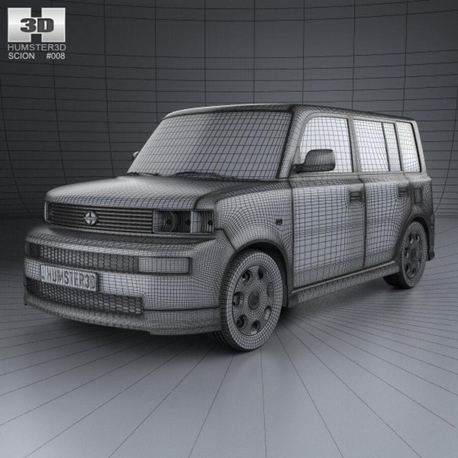 Vástago xB 2003 royalty-free modelo 3d - Preview no. 3