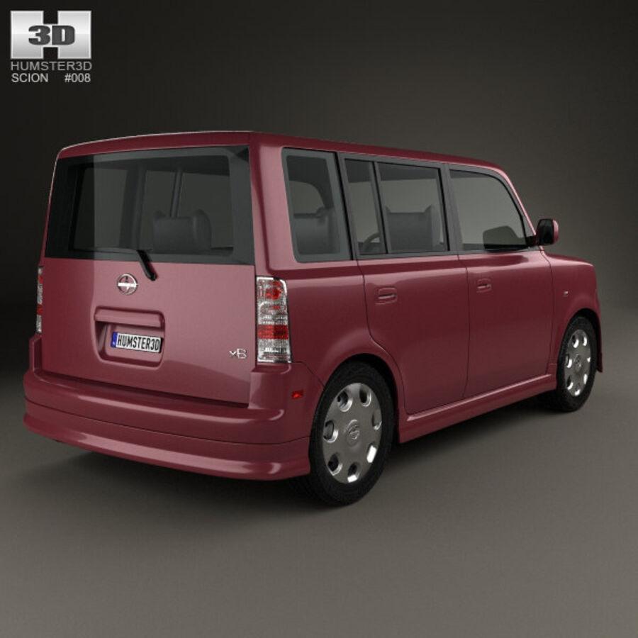 Vástago xB 2003 royalty-free modelo 3d - Preview no. 2