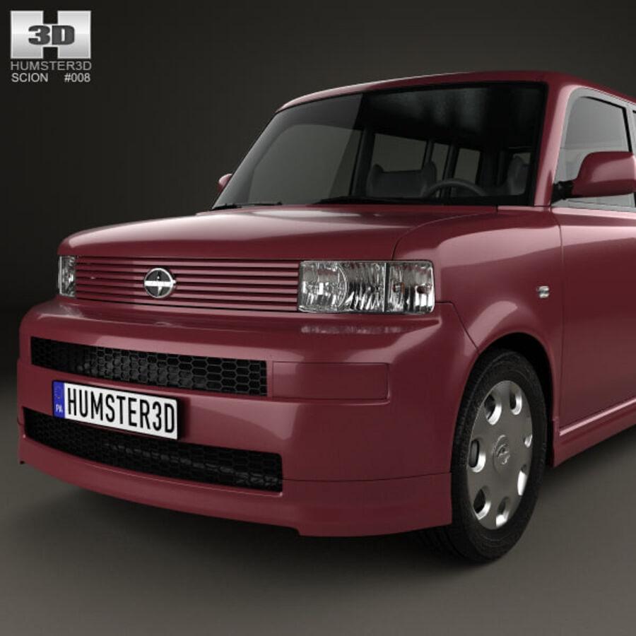 Vástago xB 2003 royalty-free modelo 3d - Preview no. 6
